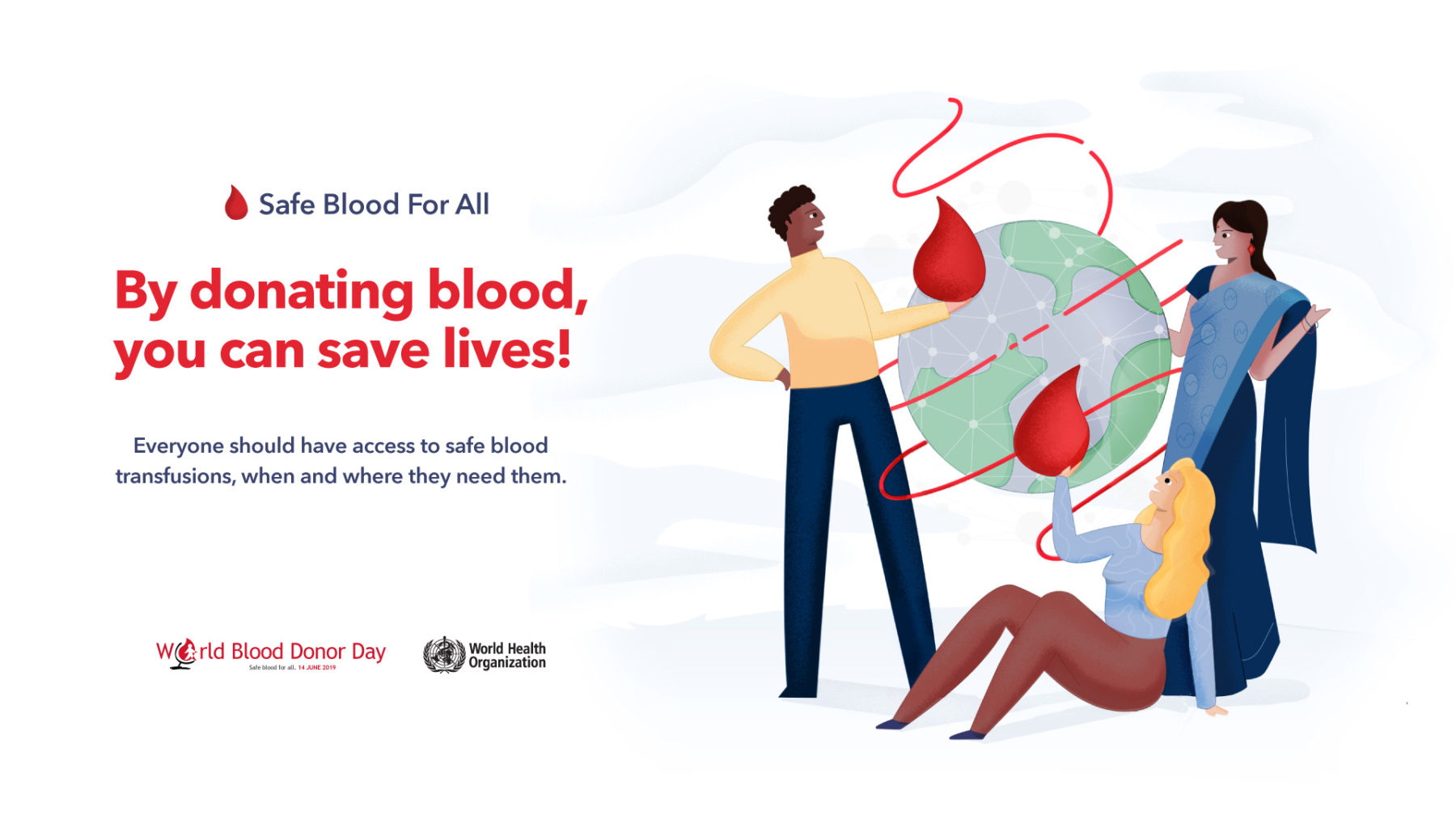 World Blood Donor Day 2019: Giving the gift of life